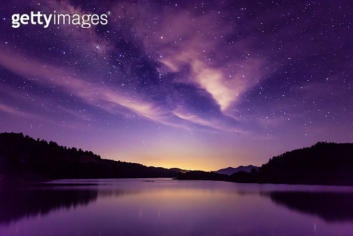 Milky way and Starry sky scene, South China - gettyimageskorea