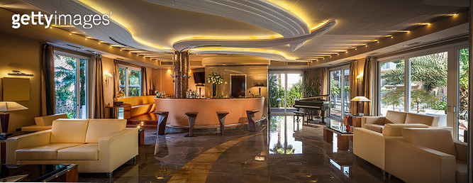 Trendy modern bar in a Hotel - gettyimageskorea