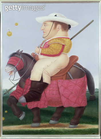 <b>Title</b> : Picador, 1985 (oil on canvas)<br><b>Medium</b> : oil on canvas<br><b>Location</b> : Private Collection<br> - gettyimageskorea