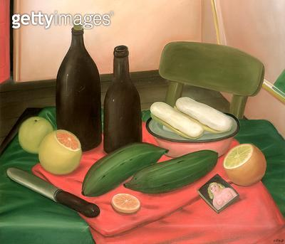 <b>Title</b> : Still Life, 1982 (oil on canvas)<br><b>Medium</b> : oil on canvas<br><b>Location</b> : Private Collection<br> - gettyimageskorea