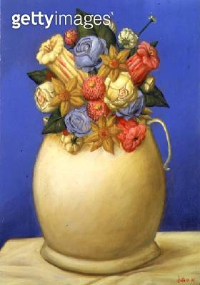 Flowers/ 1995 (oil on canvas) - gettyimageskorea