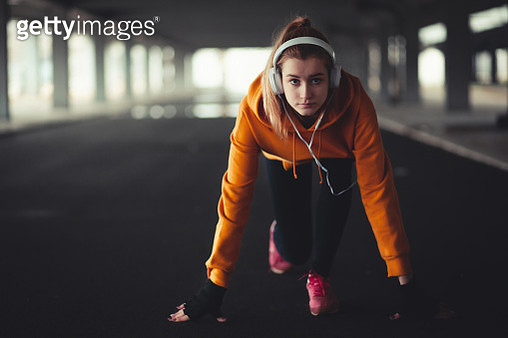 Jogging and fitness - gettyimageskorea