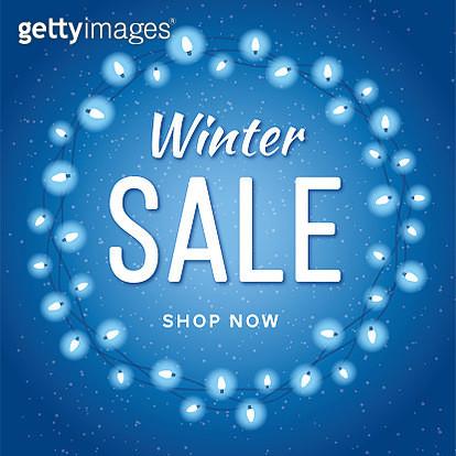 Winter Sale Banner - gettyimageskorea