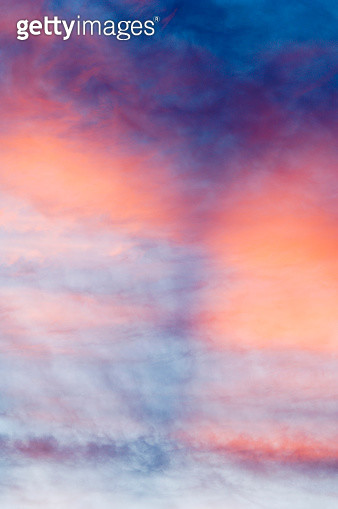 Colorful Sunset Clouds - gettyimageskorea