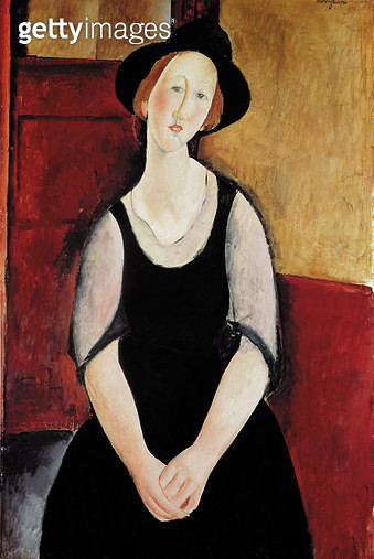 Portrait of Thora Klinckowstrom (oil on canvas) - gettyimageskorea