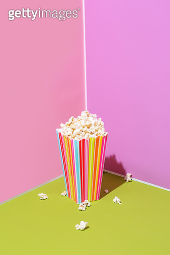 Container of popcorn - gettyimageskorea
