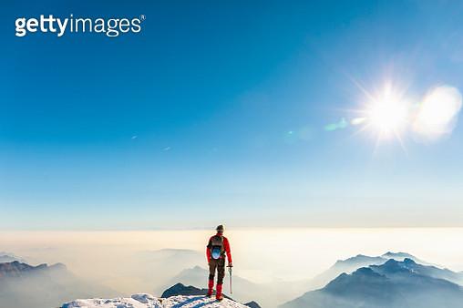 Climbing outdoor European Alps - gettyimageskorea