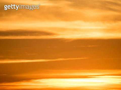 Full frame colorful clouds at sunset - gettyimageskorea