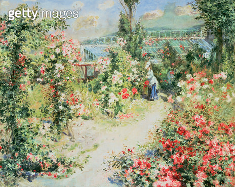 <b>Title</b> : The Conservatory<br><b>Medium</b> : <br><b>Location</b> : Private Collection<br> - gettyimageskorea