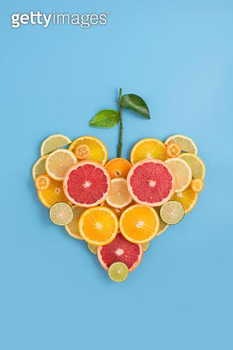 Citrus fruits conceptual still life. - gettyimageskorea