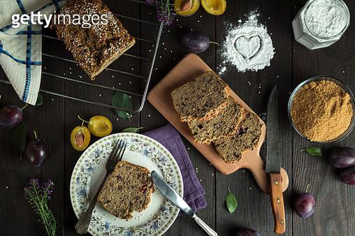 Plum Cake - gettyimageskorea