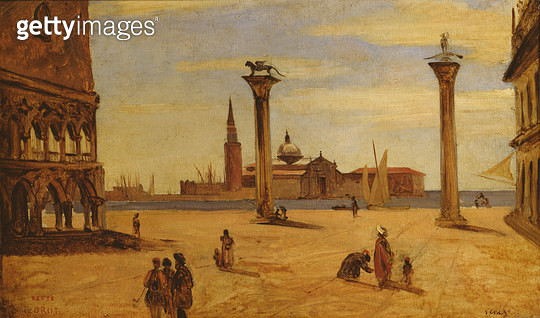 Piazzetta di San Marco/ Venice/ 1828-34 (oil on canvas) - gettyimageskorea