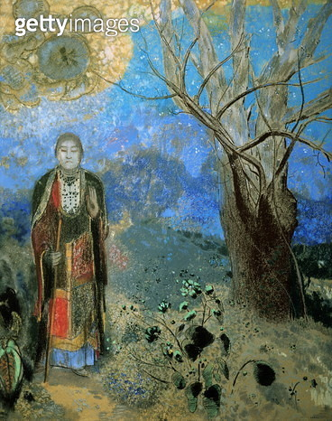 The Buddha, c.1905 (pastel) The Buddha, c.1905 - gettyimageskorea