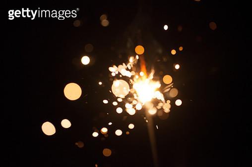 Firework spark in high speed with black background - gettyimageskorea