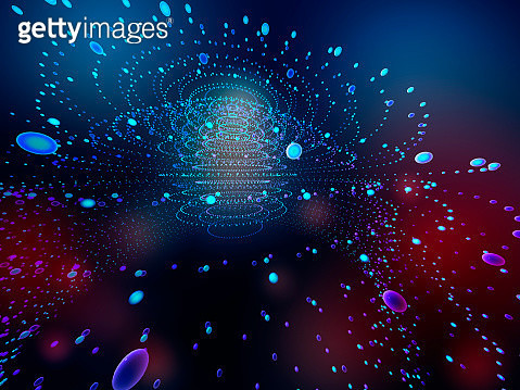 Artificial Intelligence in network space - gettyimageskorea