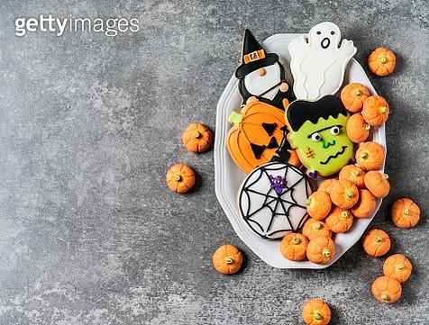 Halloween cookies - gettyimageskorea