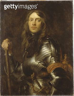 <b>Title</b> : Portrait of a Man in Armour with a Red Arm Band, c.1625-27 (oil on canvas)Additional InfoBildnis eines Geharnischten mit roter A<br><b>Medium</b> : oil on canvas<br><b>Location</b> : Gemaeldegalerie Alte Meister, Dresden, Germany<br> - gettyimageskorea