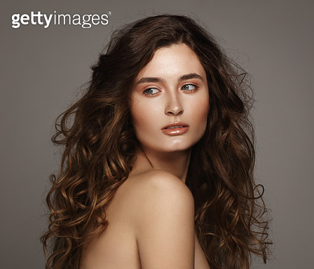 Beautiful and natural young woman - gettyimageskorea