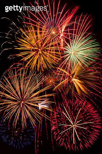Fireworks Grand Finale - gettyimageskorea