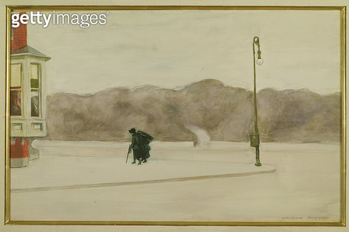 <b>Title</b> : Day After the Funeral, 1925 (w/c on paper)<br><b>Medium</b> : watercolour on paper<br><b>Location</b> : Private Collection<br> - gettyimageskorea