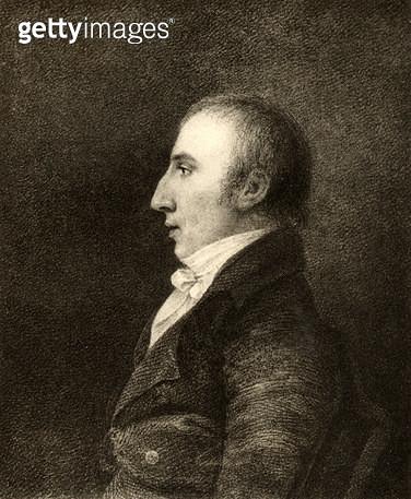 <b>Title</b> : William Wordsworth (1770-1850) (litho)<br><b>Medium</b> : <br><b>Location</b> : Private Collection<br> - gettyimageskorea