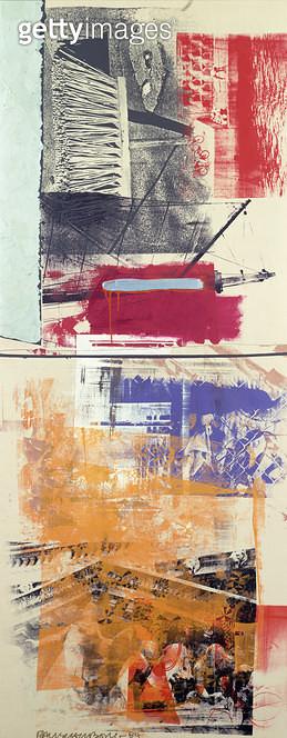 <b>Title</b> : Slipper, 1984 (acrylic on canvas)<br><b>Medium</b> : acrylic on canvas<br><b>Location</b> : Private Collection<br> - gettyimageskorea