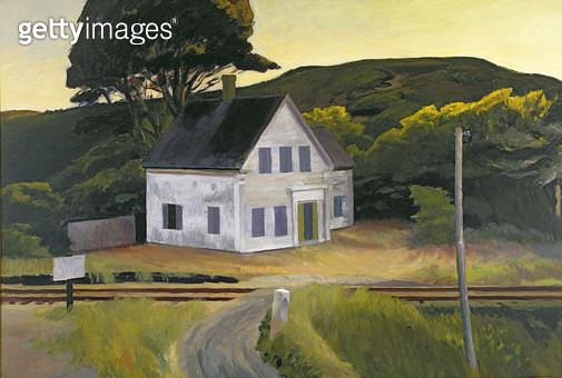 <b>Title</b> : Dauphinee House, 1932 (oil on canvas)<br><b>Medium</b> : oil on canvas<br><b>Location</b> : Private Collection<br> - gettyimageskorea