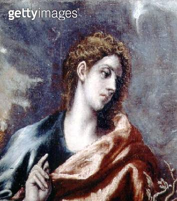 St. John (oil on canvas) - gettyimageskorea
