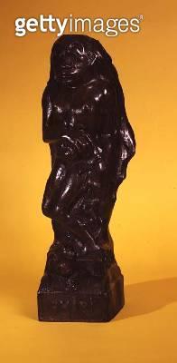 <b>Title</b> : Oviri, 1893-94 (bronze) (see also 116425, 174241)<br><b>Medium</b> : bronze<br><b>Location</b> : Private Collection<br> - gettyimageskorea