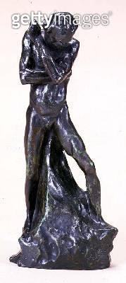 <b>Title</b> : Small Man, c.1885 (bronze)<br><b>Medium</b> : bronze<br><b>Location</b> : Private Collection<br> - gettyimageskorea