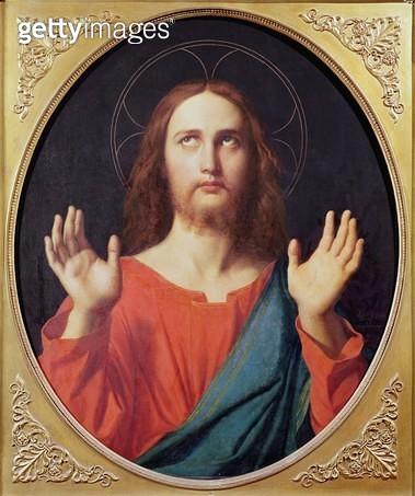<b>Title</b> : Christ (oil on canvas)<br><b>Medium</b> : oil on canvas<br><b>Location</b> : Museu de Arte, Sao Paulo, Brazil<br> - gettyimageskorea