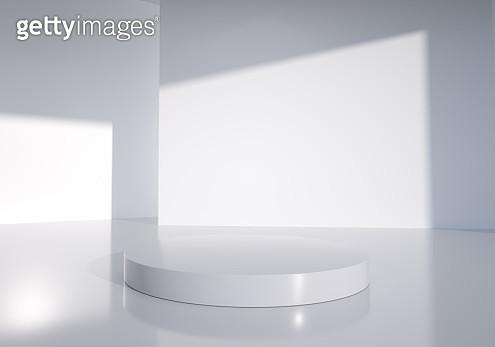 3D rendering exhibition background - gettyimageskorea