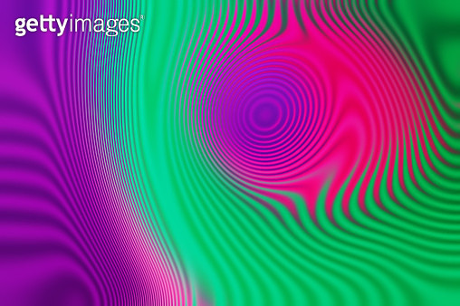 Creative illustration of trendy magenta and purple holographic background set. Fluid, liquid, wavy, dynamic shape background. Trendy and modern background color. - gettyimageskorea