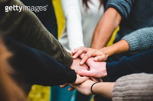 teamwork of a group of people - gettyimageskorea
