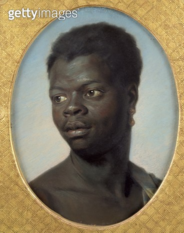 <b>Title</b> : Portrait of a Young Negro, c.1751 (pastel on paper)<br><b>Medium</b> : pastel on paper<br><b>Location</b> : Musee des Beaux-Arts, Orleans, France<br> - gettyimageskorea