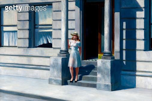 <b>Title</b> : Summertime, 1943 (oil on canvas)<br><b>Medium</b> : oil on canvas<br><b>Location</b> : Delaware Art Museum, Wilmington, USA<br> - gettyimageskorea