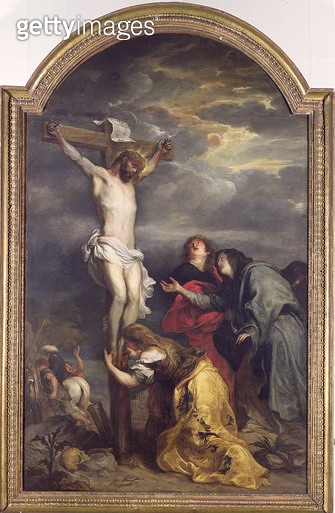 <b>Title</b> : Christ on the Cross, c.1628-30 (oil on canvas)<br><b>Medium</b> : oil on canvas<br><b>Location</b> : Musee des Beaux-Arts, Lille, France<br> - gettyimageskorea