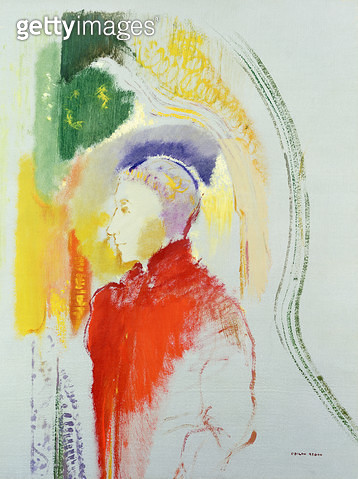 <b>Title</b> : A Figure (w/c on paper)<br><b>Medium</b> : watercolour on paper<br><b>Location</b> : Private Collection<br> - gettyimageskorea