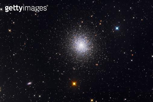 The Great Globular Cluster in Hercules. - gettyimageskorea