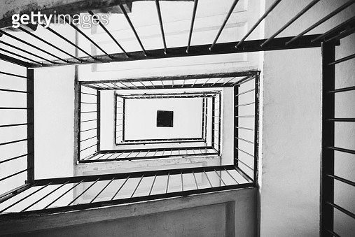 Spiral staircase - gettyimageskorea