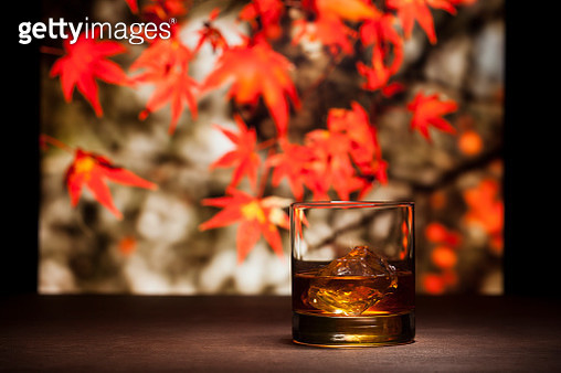 Whisky in nature background - gettyimageskorea
