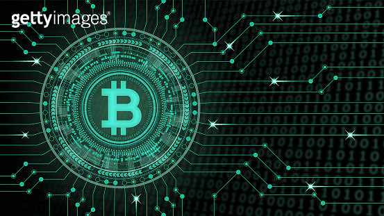 """This illustration is a concept art of """"crypto currency"""". Download includes:  This illustration is AI10 EPS. - gettyimageskorea"""