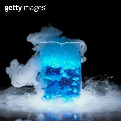 Dry ice vaporising - gettyimageskorea