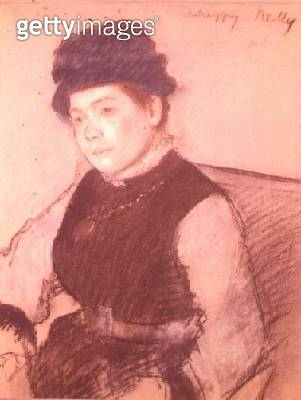 <b>Title</b> : Unhappy Nelly (pastel)<br><b>Medium</b> : pastel<br><b>Location</b> : Private Collection<br> - gettyimageskorea