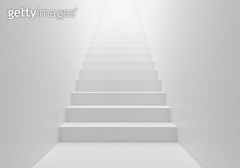 3D render stairs background - gettyimageskorea