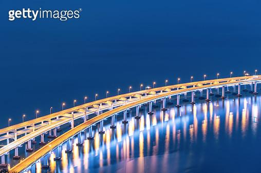 Close-up of Sea-Crossing Bridge - gettyimageskorea