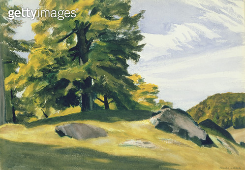<b>Title</b> : Sugar Maple, 1938 (w/c on paper)<br><b>Medium</b> : watercolour on paper<br><b>Location</b> : Private Collection<br> - gettyimageskorea
