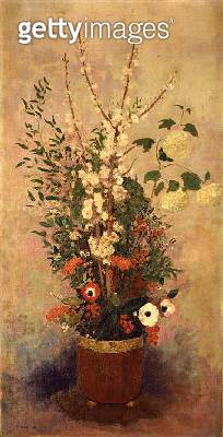 <b>Title</b> : Flowers, c.1905-6 (oil on canvas)<br><b>Medium</b> : oil on canvas<br><b>Location</b> : Private Collection<br> - gettyimageskorea