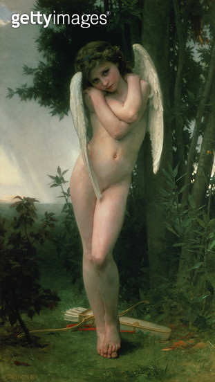 Cupidon, 1891 (oil on canvas) - gettyimageskorea