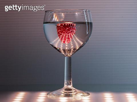 LED & raspberry - gettyimageskorea